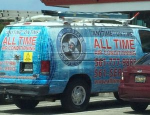 air conditioning truck