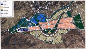 City planning map