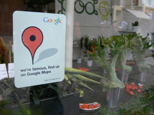 Local business on Google Maps