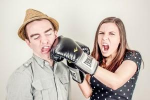 argument fight public domain