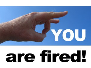 you are fired unemployed public domain