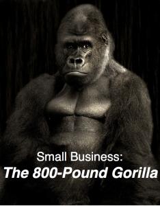 small biz 800 pound gorilla
