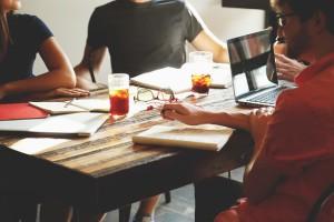 startup meeting public domain