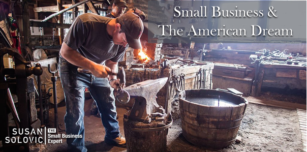 small business and the american dream