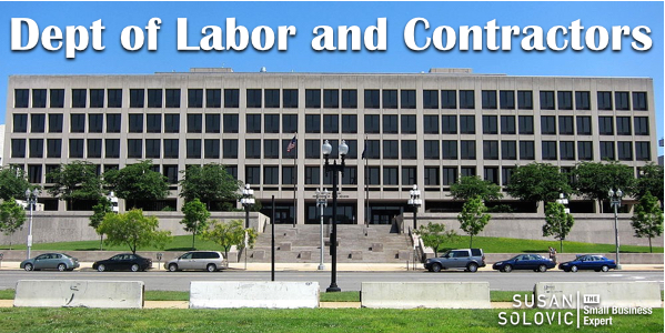 dept of labor and contractors