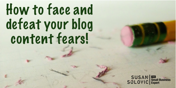 how to beat your blog content fears