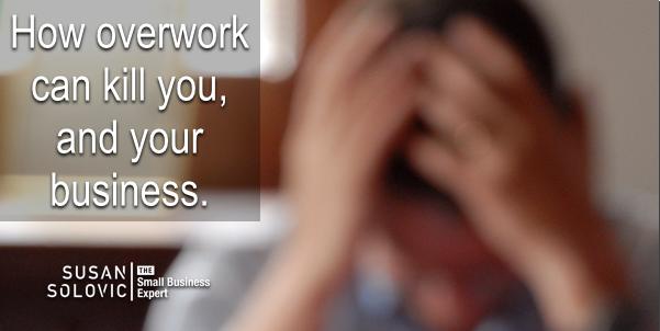 overwork can destroy your health