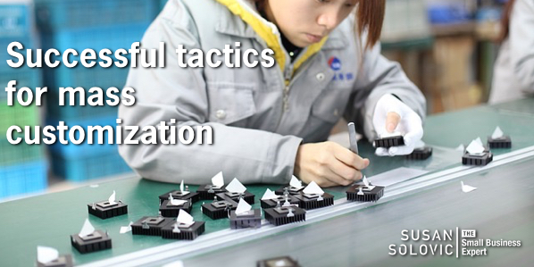 successful tactics for mass customization