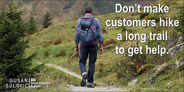 make customer service channels convenient