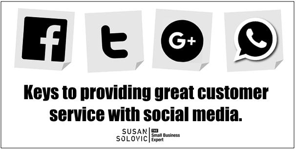 customer service with social media