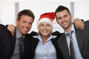 holiday business people