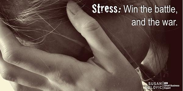 stress win the battle