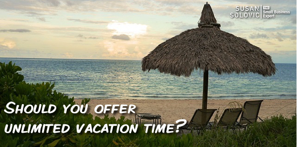 unlimited vacation time benefit