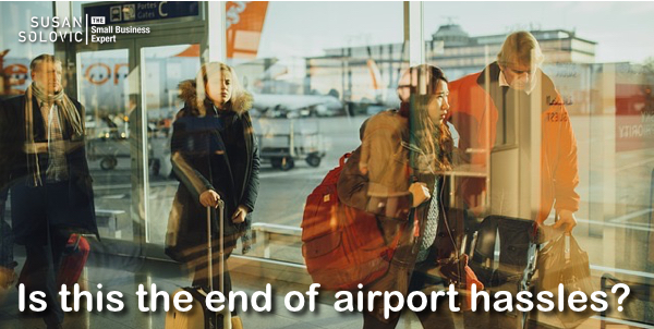 IoT and improving business airline travel