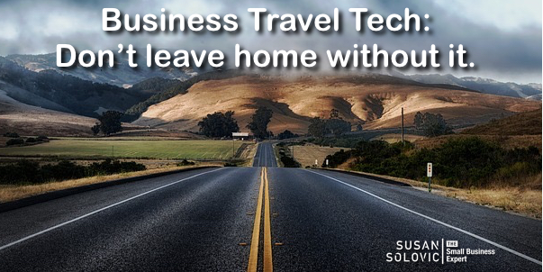 business travel technology