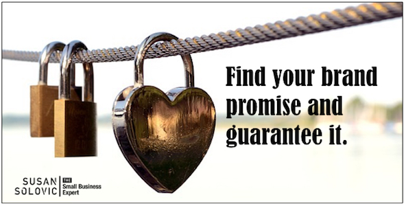 It's critical to find your small business brand promise