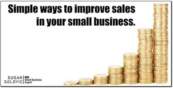 how to improve small business sales