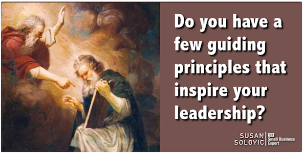 importance of guiding leadership principles