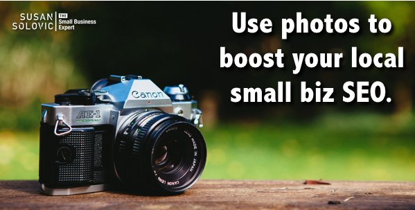 improve local small business seo with photos