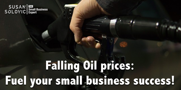 falling fuel prices and small business success