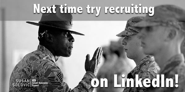small business hiring using linkedin