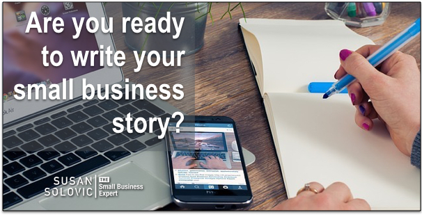 write your small business story