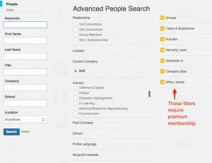 Search___LinkedIn main screen