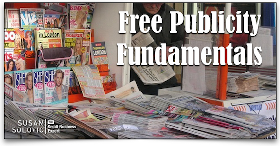 create a press kit for free publicity