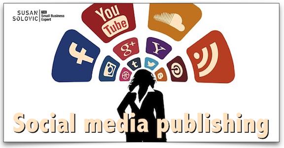 small business social media publishing