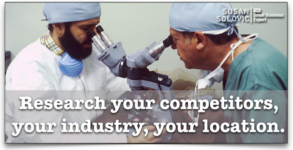 Research your competitors