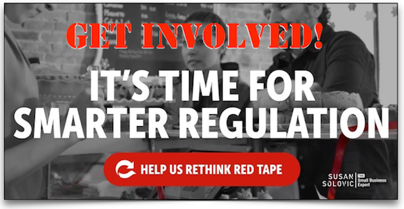 get involved with rethink red tape