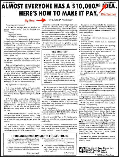 newspaper native ad