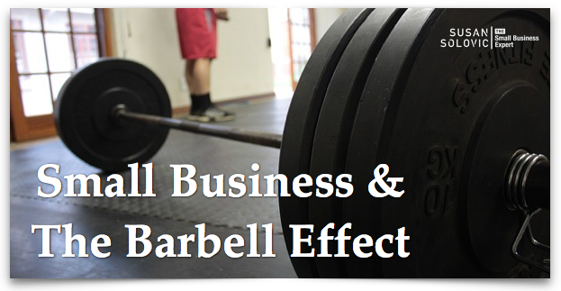 the barbell effect