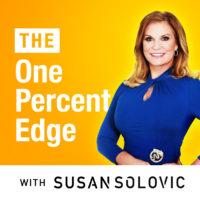 One percent Edge square logo